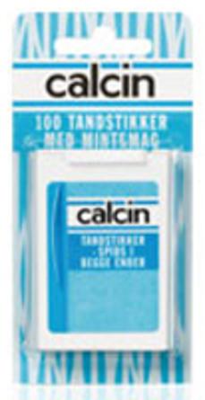 Calcin Tandstikker øko. 200 stk 200 stk.
