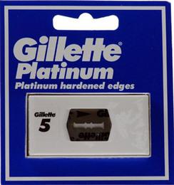 Gillette Platinum Barberblade 5 stk.