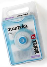 Tandex Tandtråd tynd/rund 25 m