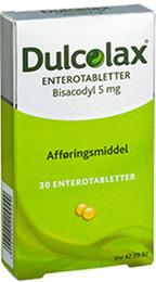 Dulcolax enterotabl. 5 mg 30 stk