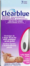Clearblue Digital Ægløsningstest 7 stk.