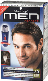 Schwarzkopf Men Perfect 60 Mellembrun 80 ml