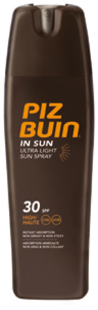 Piz Buin In Sun Ultra Light Spray SPF 30 200 ml