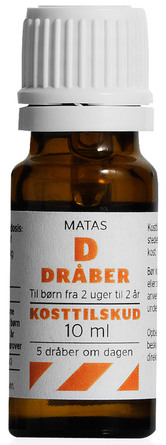 Matas Striber D-dråber Koncentreret 10 ml