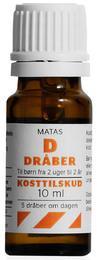 Matas Striber Matas D-dråber koncentreret 10 ml 10 ml