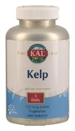 Kelp indeh. 225 mcg jod fra Kelpplanten 500 tab
