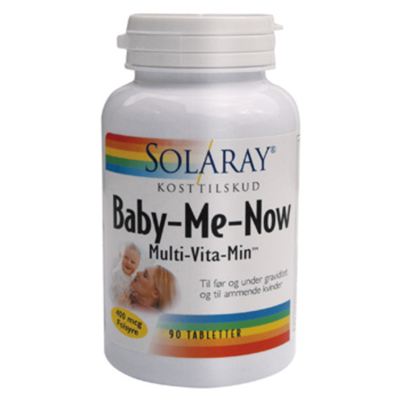 Solaray Baby-Me-Now 90 tabl.