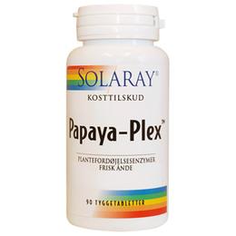 Papaya Plex Tyggetab 90 tab