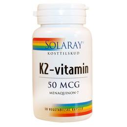 K2-vitamin 50 mcg 30 kap