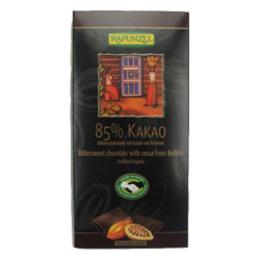 Chokolade 85% kakao Ø Rapunzel 80 g