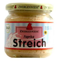 Smørepålæg veg. paprika streich Ø Zwergenw 180 g