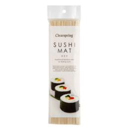 Sushi måtte af bambus
