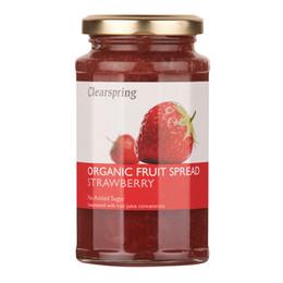 Marmelade jordbær u. tilsat sukker Ø Clear 290 g