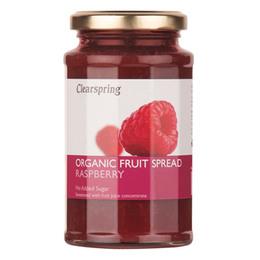Marmelade hindbær Ø Clearspring 290 g
