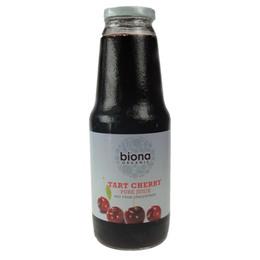Kirsebærjuice direkte presning Ø 1 l
