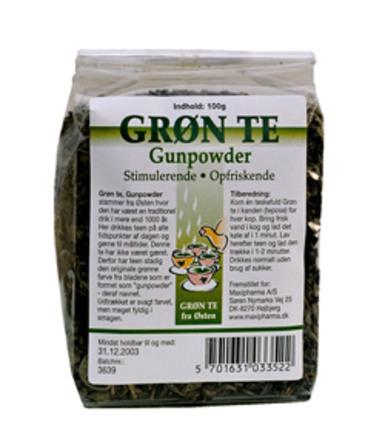 Grøn te Gunpowder 100 g