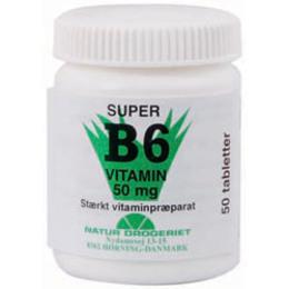 Natur Drogeriet B6 vitamin 50 mg 50 tabl.