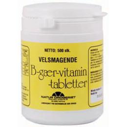B-Gær-vitamin 265 mg 500 tab