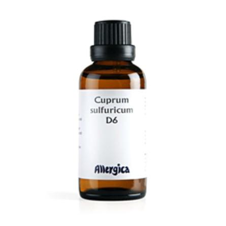 Cuprum sulf. D6 50 ml