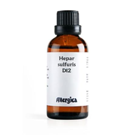 Hepar sulf. D12 50 ml