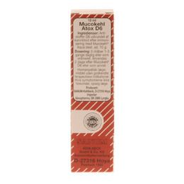 Mucokehl D6 atox dråber 10 ml