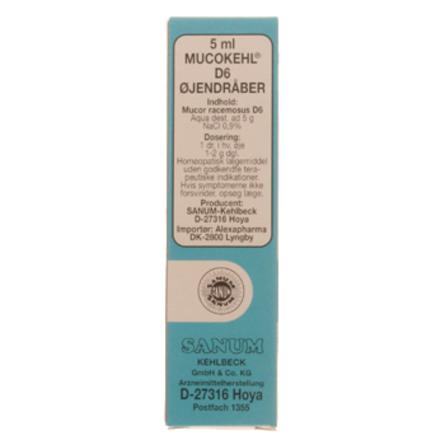 Sanum-Kehlbeck Mucokehl øjendråber (blå) 5 ml
