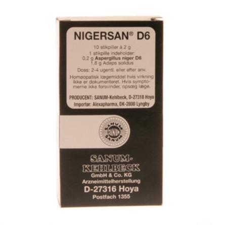 Nigersan stikpiller