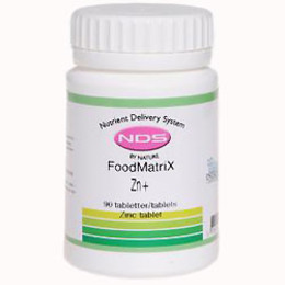 NDS Zn+ Zinc tablet 90 tab