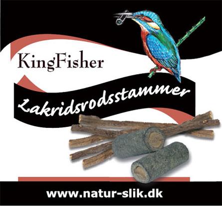 Kingfisher Lakridsrodstammer økologisk 70 g