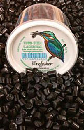 Kingfisher 100% Ren Lakrids sukkerfri 75 gr.