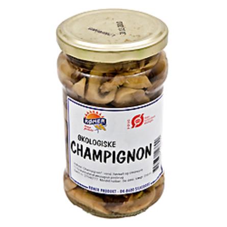 Champignon i glas Ø 280 g