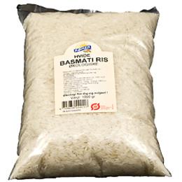 Ris hvide basmati Ø 1 kg
