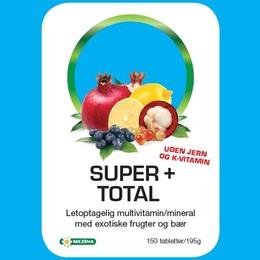 Super+ total Vit, min.u.jern og K-vitami 150 tab