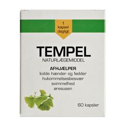 Tempel-Ginkgo biloba 30 mg 60 kap