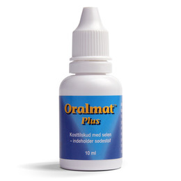 Oralmat Plus m. selen 10 ml