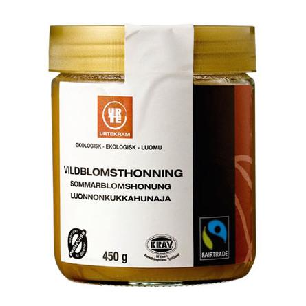 Urtekram Vildblomst honning Ø 400 g