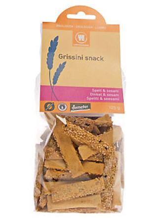 Grissini snack spelt & sesam Ø 125 g