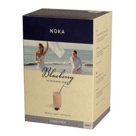 Milkshake blåbær Noka diæt Til 15 måltider 525 g