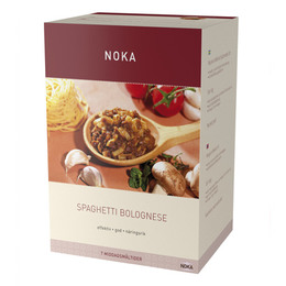 Spaghetti bolognese Noka diæt Til 7 måltid 420 g