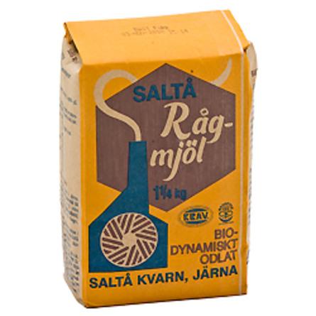 Rugmel Ø saltå kvarn 1250 g