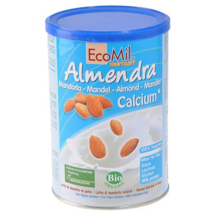 Instant mandel drik Ecomil Ø m. calsium 400 g