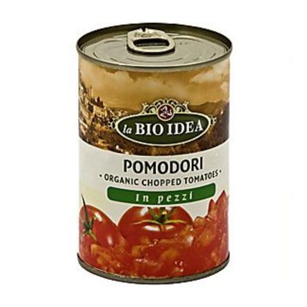 Tomater hakkede i ds. Ø 400 g