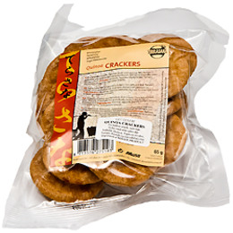 Quinoa crackers 65 g