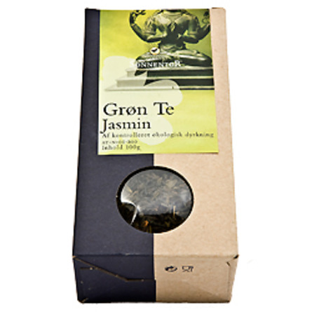 Grøn te jasmin Sonnentor Ø 100 g