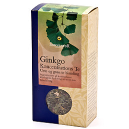 Ginkgo Koncentrations te Sonnentor Ø 50 g
