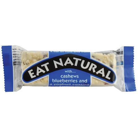 Cashew og blåbær med youghurt overtræk Eat 45 g