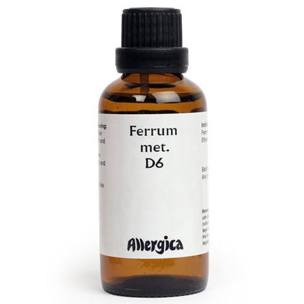 Ferrum met. D6 50 ml