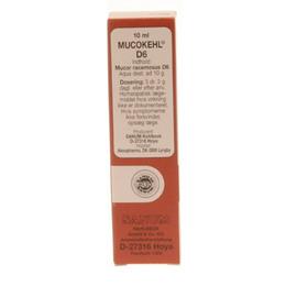 Mucokehl dråber (brun) 10 ml
