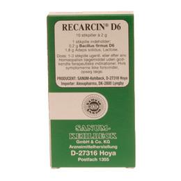 Recarcin D6 stikpiller