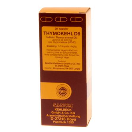 Thymokehl D6 kapsler 20 kap